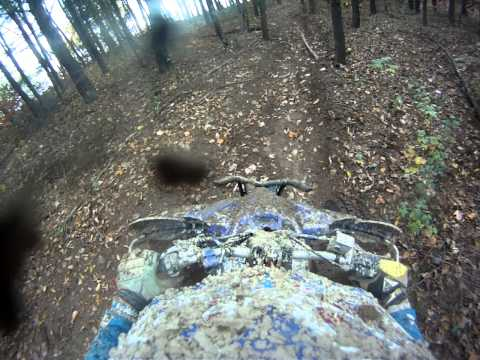 Rocket Raceway woods and motocross laps