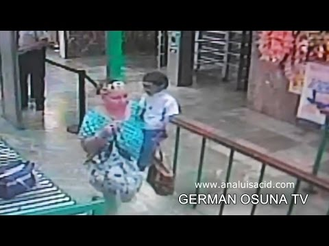 ¿Duende? Grabado con cámaras de vigilancia en Sonora, México