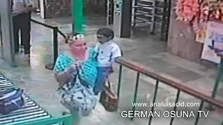 ¿Duende? Grabado con cámaras de vigilancia en Sonora, México thumbnail