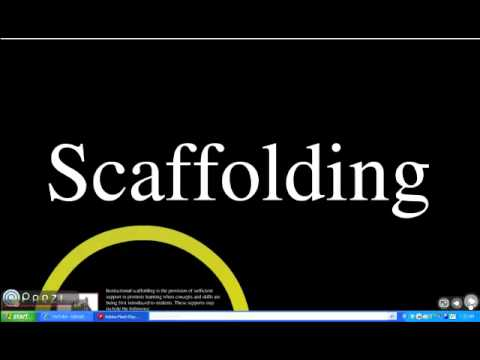Scaffolding Instructional Strategy Dominique Youtube