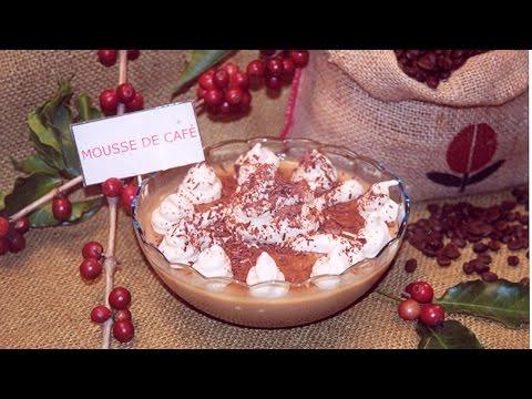 Receitas com Café - Mousse de Café