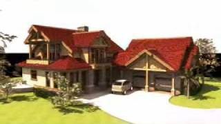 The Sages: Timber Frame Home Design By Gravitas: Hybrid Construction Plans