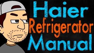 Haier Refrigerator Manual