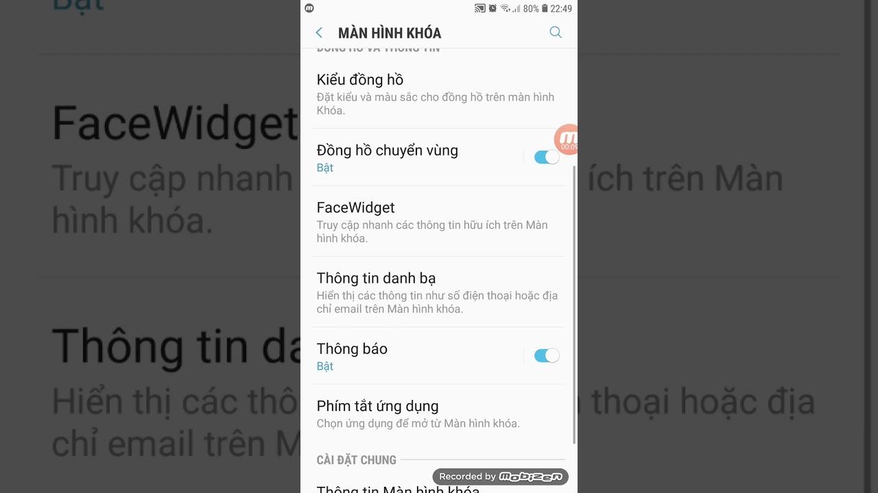 Ẩn nội dung thông báo trên màn hình khóa cho android
