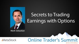 Secrets to Trading Earning with Options