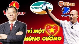 Vingroup, Viettel Và Những Doanh Nghiệp Công Nghiệp ICT Với Khát Vọng Vì Một Việt Nam Hùng Cường