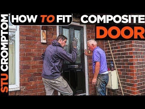How To Fit Composite Door And Repair Lintel