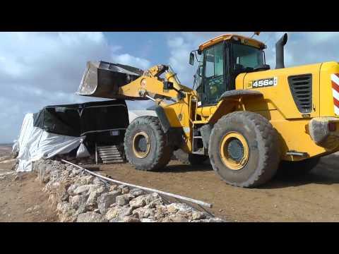 Demolitions and destruction in south Hebron hills 24.11.2011