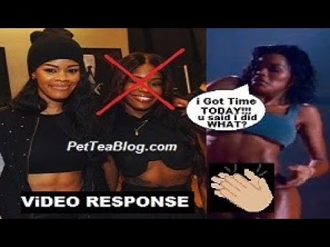 Teyana Taylor Claps back at Azealia Banks for Lying that she Stole a Whole Dance 👏