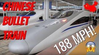 Chinese Bullet Train 188 MPH! // Nanning to Shenzhen & Hong Kong