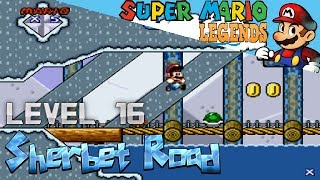 Super Mario Legends - Level 16: Sherbet Road