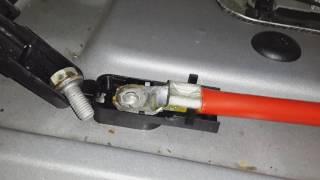 Плюсовій кабель BMW e60 і його проблеми