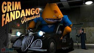 Grim Fandango Part 2   Point And Click Game Let