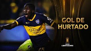 Gol de Hurtado | Boca 1 River 0 | CONMEBOL Libertadores 2019