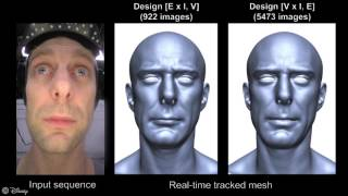 Synthetic prior design for real time facial capture