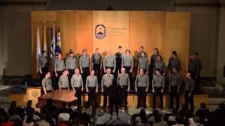 Coro masculino Drakkar - Encuentro Coral 2013 - Universidad Católica del Uruguay