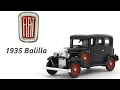 1935 Fiat Ballila 1:43 Diecast scale model car scaleartsin india