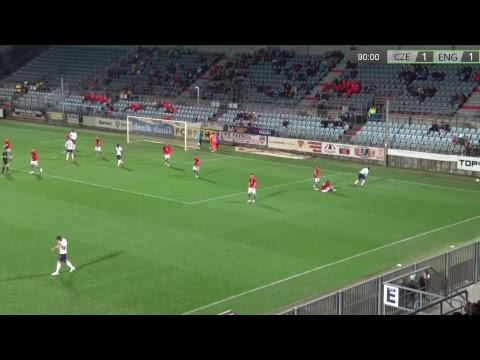 Česká republika U20 - Anglie U20
