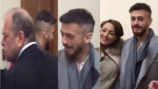 """عاجل.. أول فيديو لسعد المجرد من داخل قصر العدالة بباريس ورد فعل المحامي """"الوحش"""" من المعجبات"""