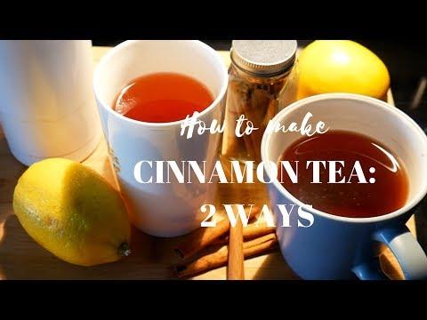 Simple Cinnamon Tea You Need to Try: 2 Ways