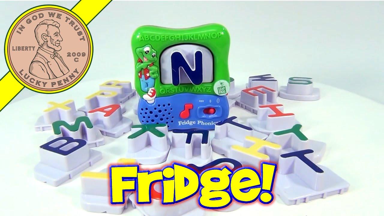 Leapfrog Fridge Phonics Magnetic Word Builder Letters Learning Toy