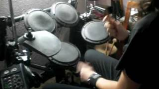 Nightwish E-Drums Cover - Over The Hills And Far Away