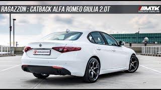 Catback Echappement Ragazzon Alfa Roméo Giulia 2.0T