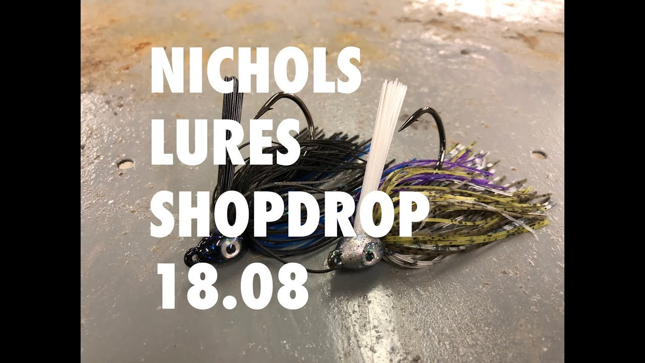 Nichols Lures - the premier bass fishing lure manufacturing