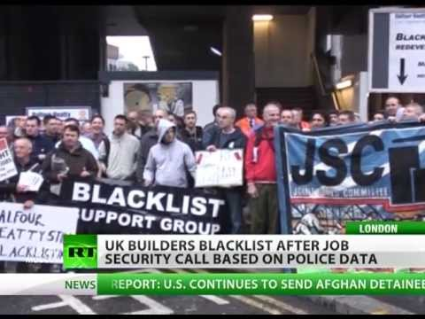 Blacklisted: UK workers fighting job market ban