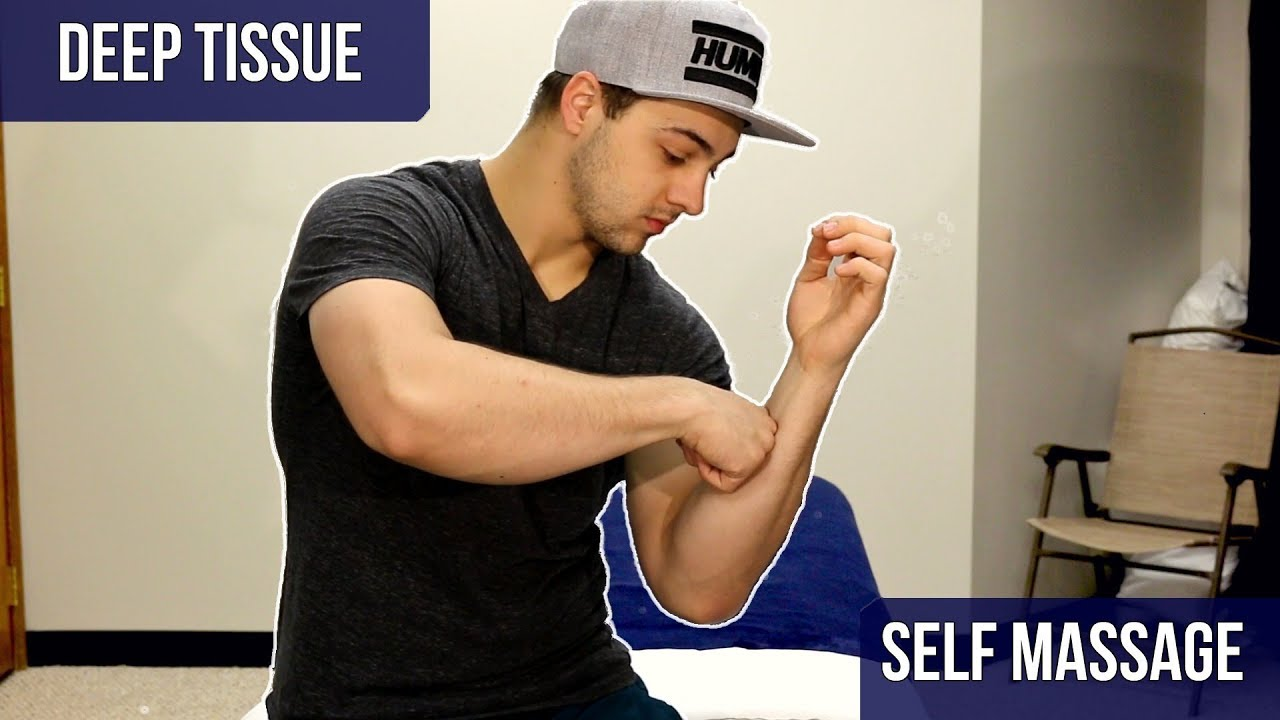 Forearm Self Care Techniques - DIY Massage Therapy - YouTube