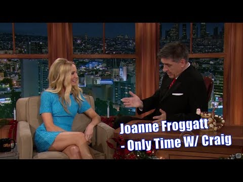 Joanne Froggatt  They Love Stroking Their Rabbits  Her Only Time With Craig Ferguson