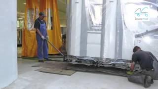 Transmid - Transport HDS, Relokacja maszyn