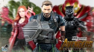 sh figuarts captain america avengers infinity wars