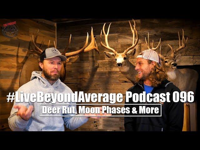 #LiveBeyondAverage Podcast 096 || November Rut, Moon Phases & Weather