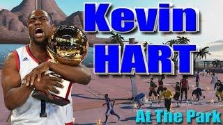 KEVIN HART AT THE PARK !!! DROPPING EVERYONE OFF LMAO 5'4 BEAST !!!!!! - NBA 2K16