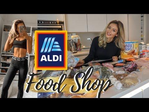 ALDI HEALTHY FOOD SHOP HAUL ON A BUDGET