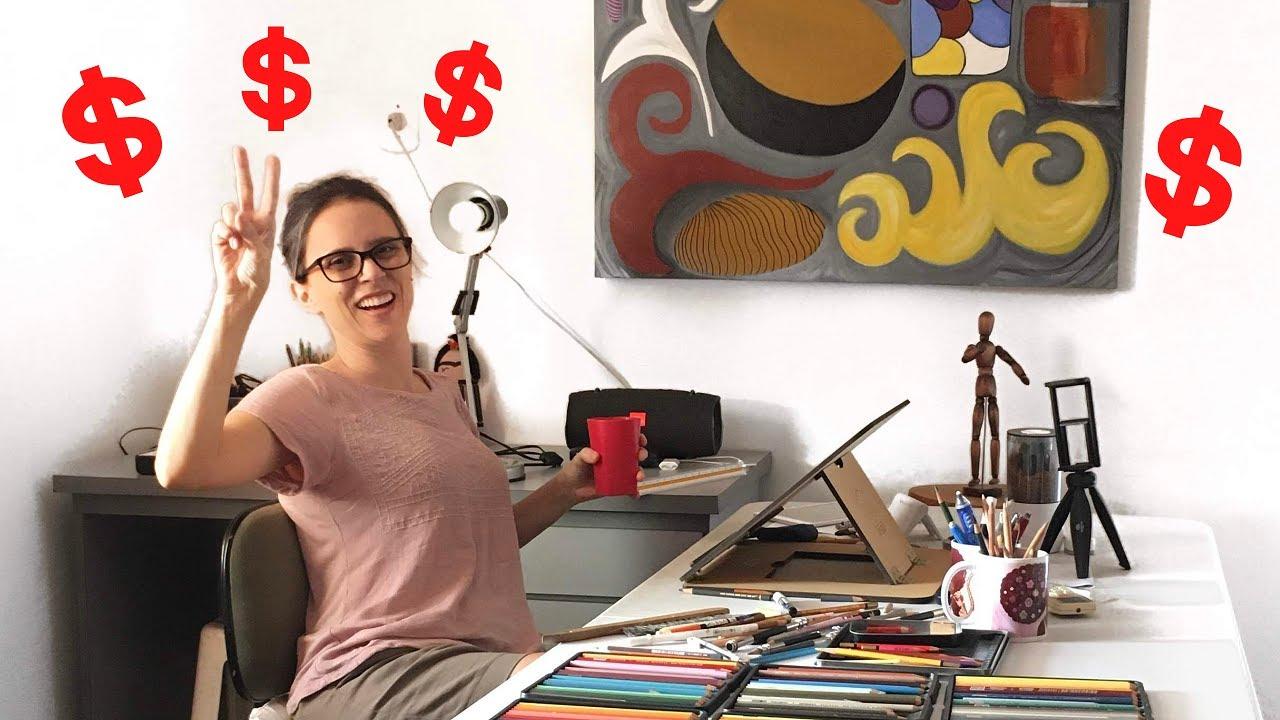 Sobre quem vive da venda de encomendas de arte