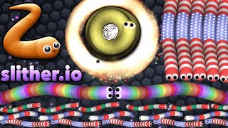 Slither.io EPIC Funny Failed Biggest Trap Agario Team Split Run (Agar.io/Slitherio Best Moments)