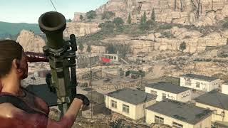 MGSV Wakh Sind Barracks Rampage 1080P 60FPS PC
