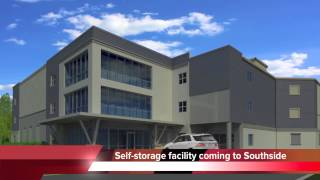 Huge Self-storage Building Going Up In Chattanooga