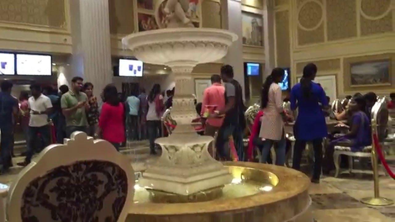 Palazzo Cinema Chennai India - YouTube