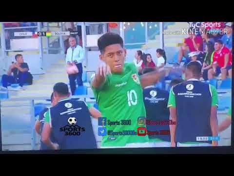 Polémica celebración de jugador boliviano: la política se metió en el Sudamericano Sub 20