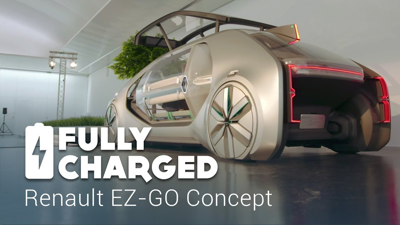 Renault Ez Go Concept Fully Charged