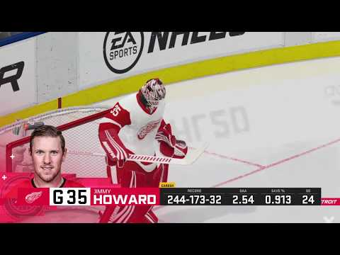 NHL 20 Detroit Red Wings vs Toronto Maple Leafs Full Game