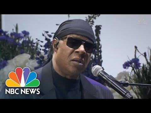 C-Rob Blog (58472) - Stevie Wonder Calls for Gun Control During Nipsey Hussle Memorial