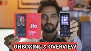 Jiophone Unboxing & Hands on With Cool Features! [Techno Ruhez]