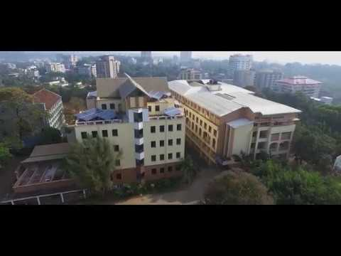 St Aloysius Institutions Mangalore | Aerial View