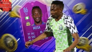 Download Video FIFA19|OMFG! 86 SBC AHMED MUSA PLAYER REVIEW! NIGERIAN MESSI? IS HE WORTH 130,000 COINS? MP3 3GP MP4