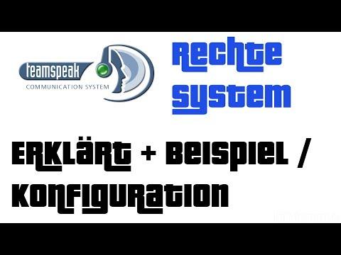 Teamspeak 3 Rechtesystem erklärt + Beispiel Konfiguration (Gast, Mitglied, Moderator)