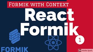React Forms using Formik